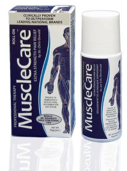 Muscle Care Roll on Relief box