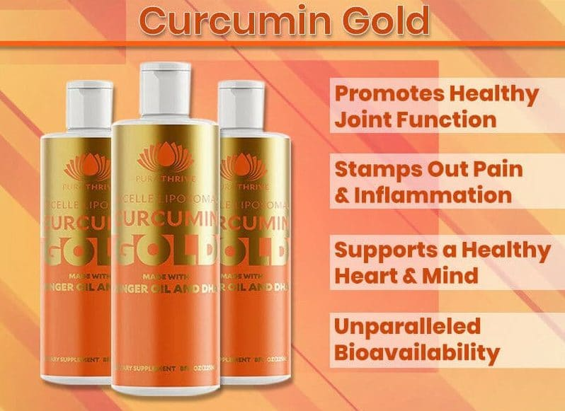 Review of the benefits of Curcumin Gold