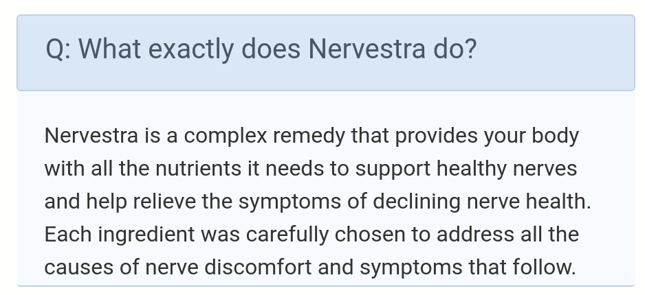 What exactly does Nervestra do?